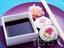 Рецепта Суши с риба тон и авокадо
